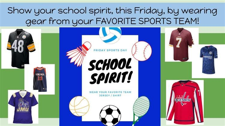 Favorite Sports Team Day - Oct. 2nd